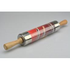 Nerezový váleček s dřevěnou rukojetí (25/43cm)