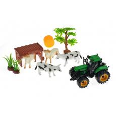 Farm truck - Traktor se zvířaty a příslušenstvím