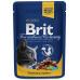 Brit Premium Cat Pouches s krocanem a kuřecím 100 g 20+4 ZDARMA