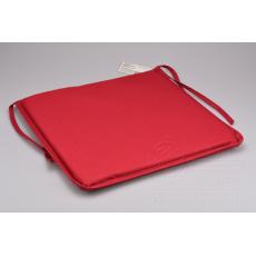 Podsedák na židli nebo lavičku (40x40x3cm) - Červený