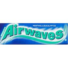 Airwaves žvýkačky Menthol a Eukalyptus dražé 30x14g