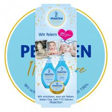 Penaten dárkové balení dětské kosmetiky pleťové mléko, šampón a krém
