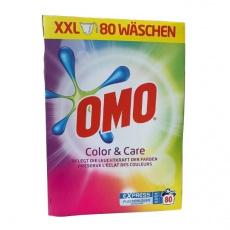 OMO prací prášek Color Care na barevné prádlo 80PD 5,2kg