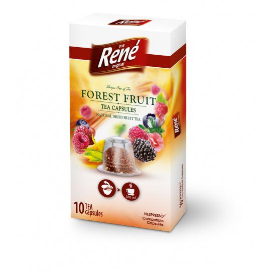 René čaj lesní/zahradní ovoce kapsle pro Nespresso 10ks