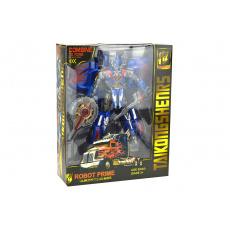 Transformační robot TP20-0133 - Modrý