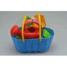 Dětská sada na písek MARIOINEX - Košík s konvičkou (7ks)