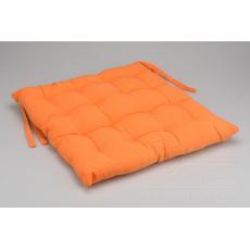 Podsedák na židli (40x40x6cm) - Oranžový