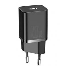 Baseus CCSUP-B01 Super Si Quick Nabíječka USB-C 20W Black