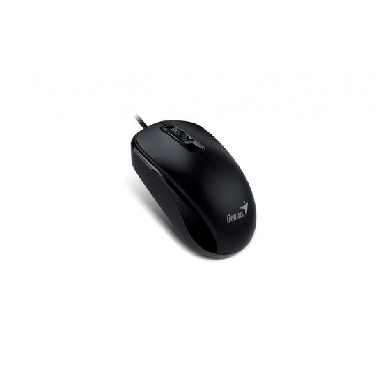 Myš GENIUS DX-110 USB 1000DPI, black