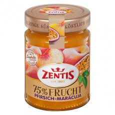 ZENTIS exkluzivní německá marmeláda 75% ovoce Broskev a Marakuja, 270g